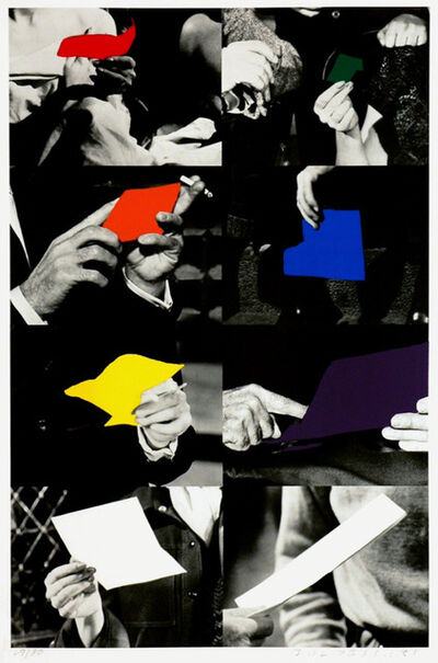 John Baldessari, 'Two Unfinished Letters', 1992