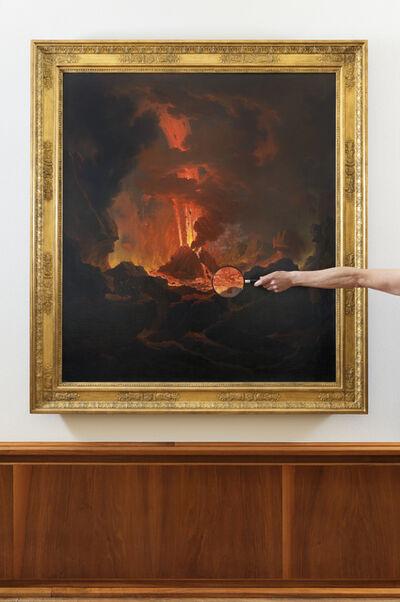 Matts Leiderstam, 'After Image (Vesuv-Ausbruch)'