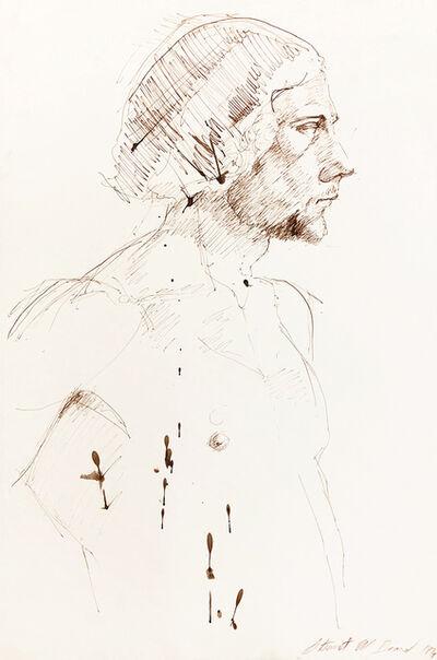 Mark Beard, 'Untitled (Male Figure Facing Right)', 1974