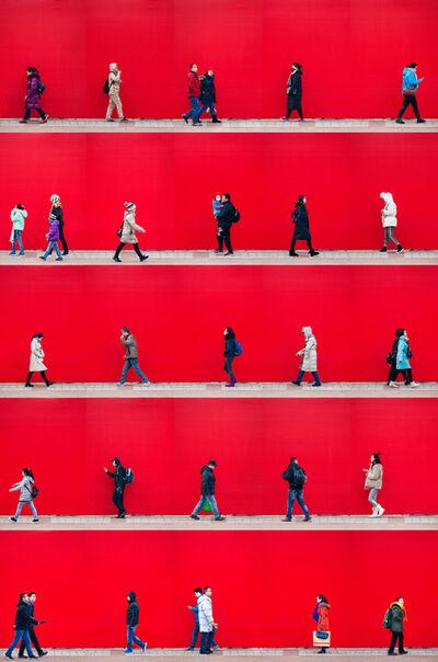 Xan Padron, 'Time Lapse. Wangfujing Street, Beijing', 2017