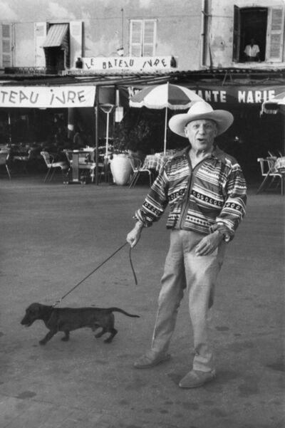 Marc Riboud, 'Pablo Picasso, Saint Tropez, 1957', 1957