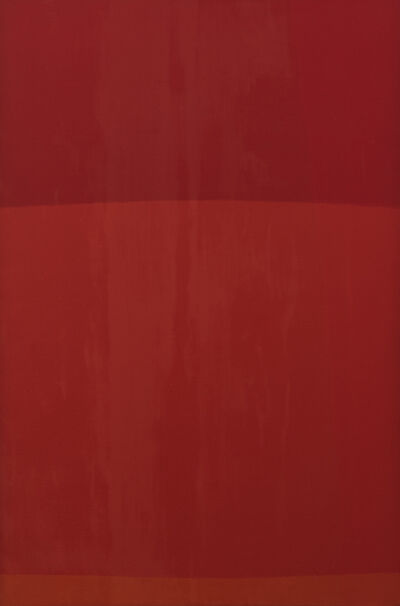 Felrath Hines, 'Red Painting', 1968