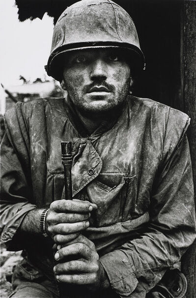 Don McCullin, 'Shell-shocked US Marine, The Battle of Hue', 1968
