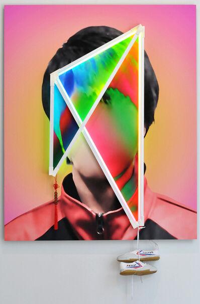 James Clar, 'Scarz Laz (portrait)', 2018