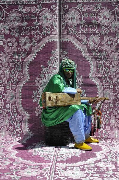 Hassan Hajjaj, 'Maalem Simo Lagnawi', 2010
