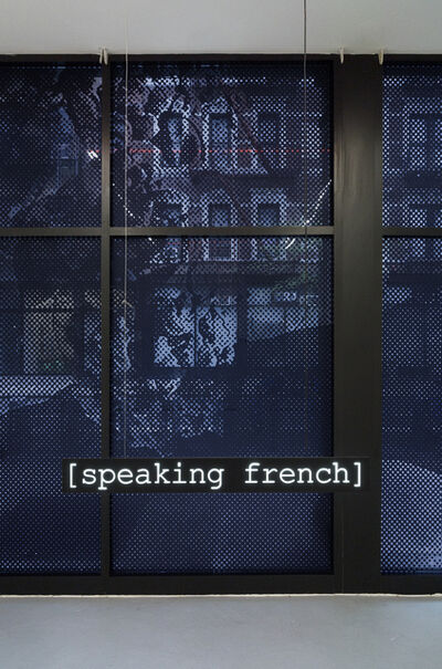 Javier M. Rodríguez, '[Speaking French]', 2019