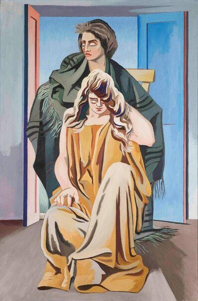 Alberto Magnelli, 'Due donne', 1924-1928