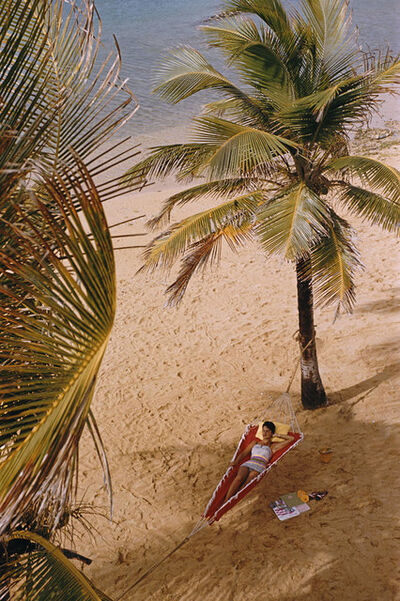 Slim Aarons, 'Caribe Hilton Beach, San Juan ', 1956