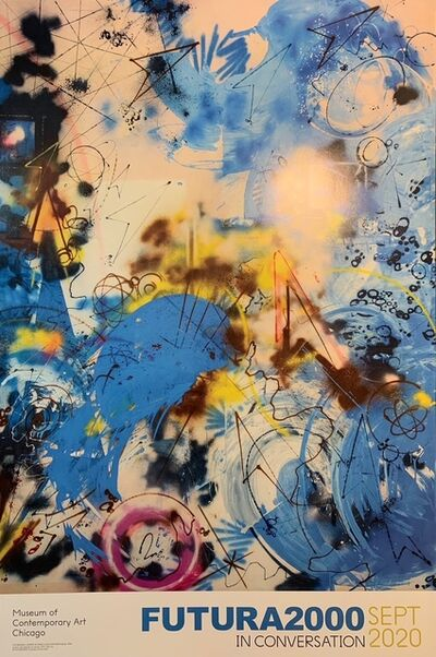 "Futura, 'Futura 2000 Chicago Show Print ""In Conversation"" Street Art Urban Art ', 2020"
