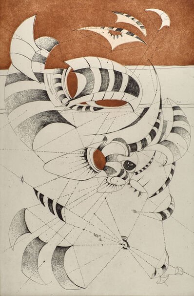 Lee Bontecou, 'Untitled from the National Collection of Fine Arts portfolio', 1967