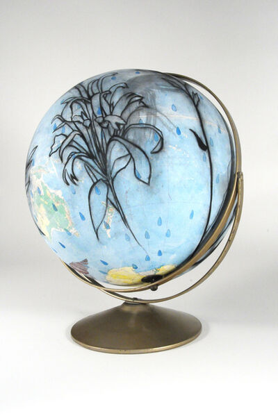 Susan Davidoff, 'Simple Relief Globe / Water Willow and Texas Springs', 2017