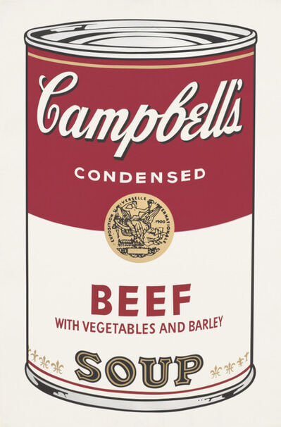 Andy Warhol, 'Campbell's Beef Soup', 1968