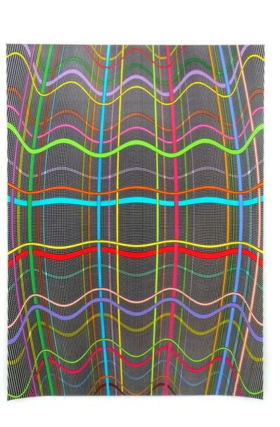 Linda Besemer, 'Horizontal Wave', 2008