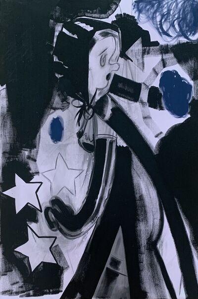 Ellen Berkenblit, 'Werewolf Avenue', 2007