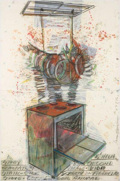 Dennis Oppenheim, 'Study for Second Generation', 1988