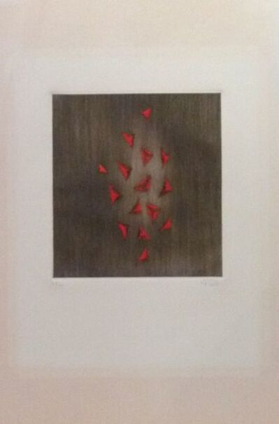 Arthur Luiz Piza, 'Eclat du rouge ', 1976