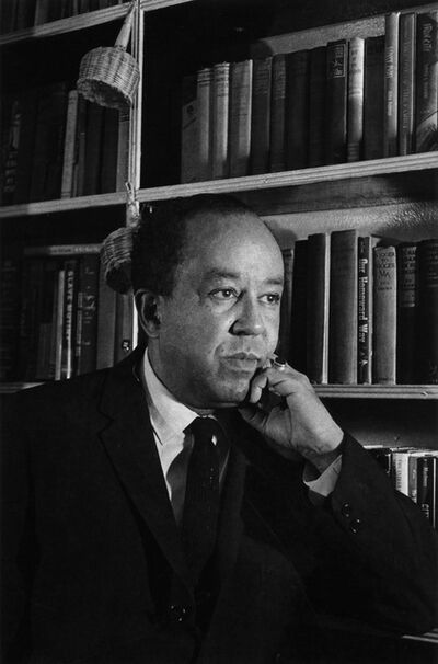 Louis Draper, 'Langston Hughes', ca. 1961