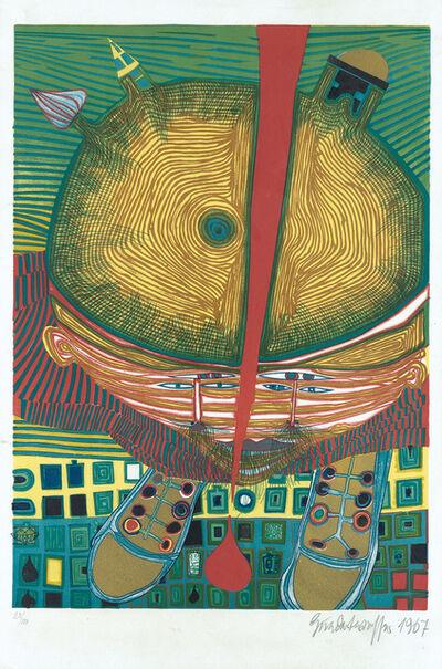 Friedensreich Hundertwasser, 'The Boy with Green Hair', 1967