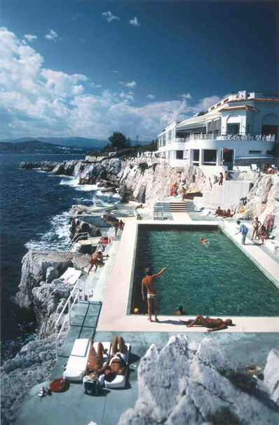 Slim Aarons, 'Eden Roc Pool', 1976