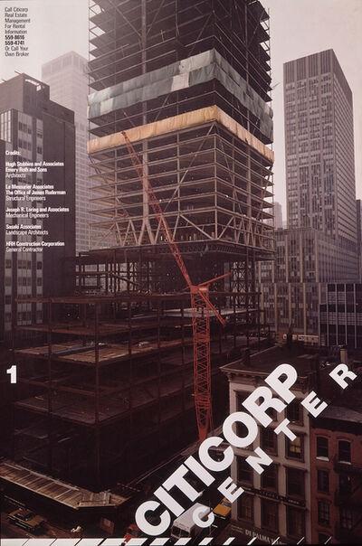 Dan Friedman, 'Citicorp Center poster', 1975