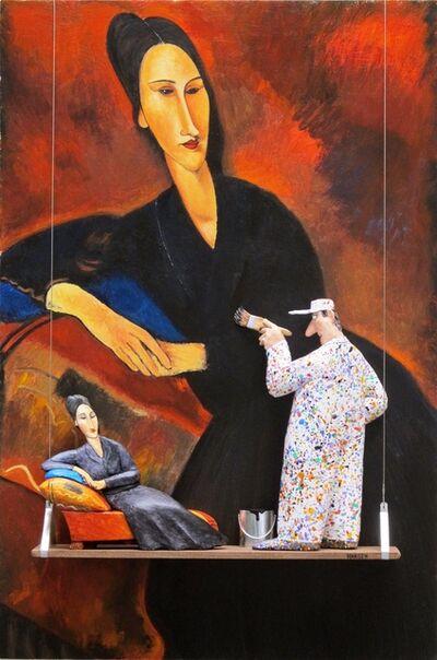 Stephen Hansen, 'Madame Zborowska on a Sofa: Modigliani'