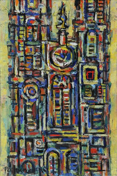 René Portocarrero, 'Yellow Cathedral ', 1960