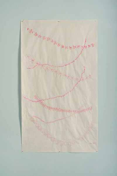 Sylvia Netzer, 'Trackways Drawing #1', 2013