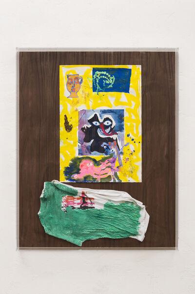 Ida Ekblad, 'This puppy, that missus, the mutt', 2015