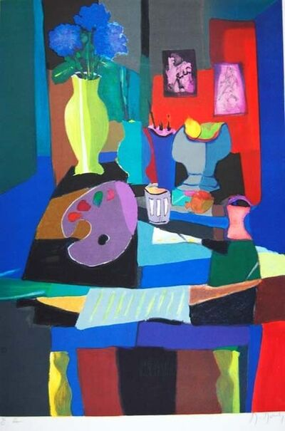 Marcel Mouly, 'Nature Morte et Pallete', 1992