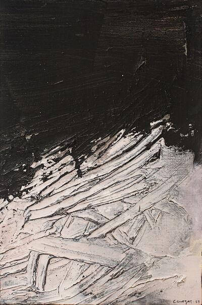 Rafael Canogar, 'Paw print', 1959