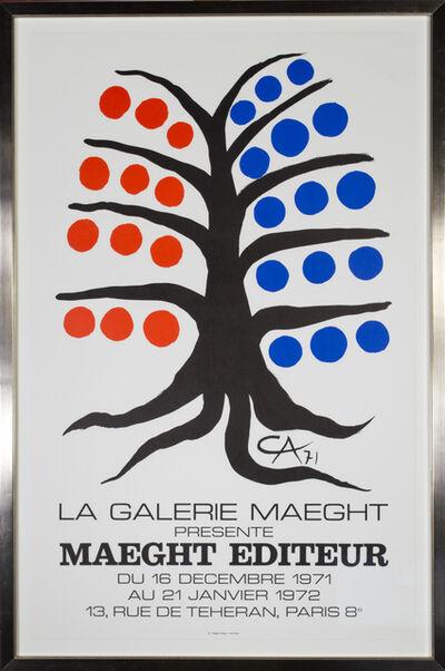 Alexander Calder, 'Maeght Editeur', 1971-1972
