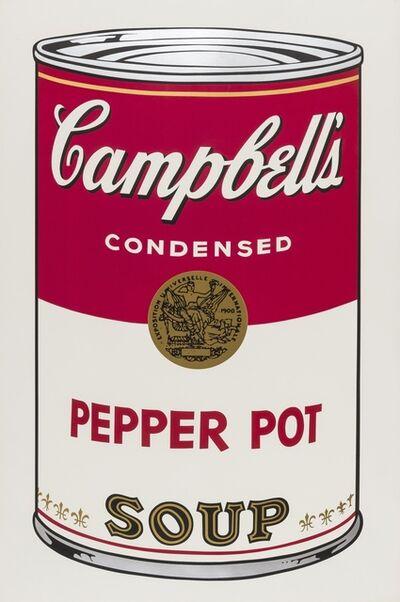 Andy Warhol, 'Campbell's Soup I. Pepper Pot Soup (Feldman & Schellmann II.51)', 1968