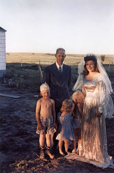 Guy Stricherz, 'Americans in Kodachrome 1945-65, Seventh Wedding Anniversary, Hermosa, South Dakota. Photographer: Irvin Evans', 1952
