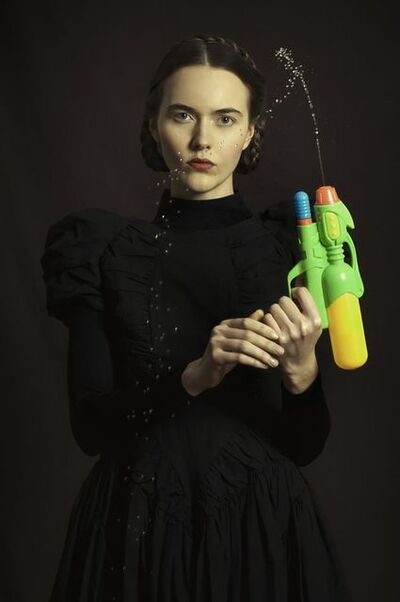 Romina Ressia, 'Woman with a water pistol', 2015