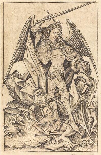 Israhel van Meckenem, 'Saint Michael', ca. 1470/1480