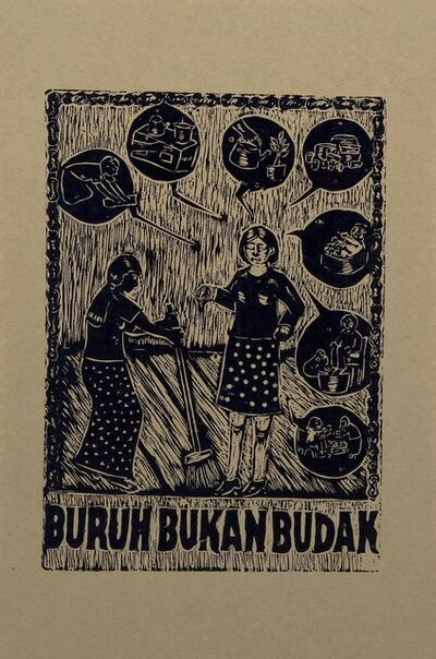 Taring Padi, 'Buruh Bukan Budak (Workers are Not Slaves)', 2004