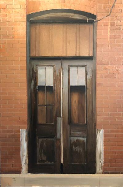 Jesus Emmanuel Villarreal, 'Brooklyn Door in the Spring', 2016