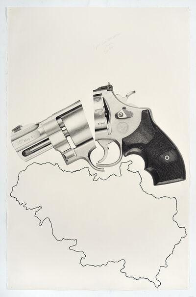 Karl Haendel, 'Split Smith & Wesson Over Serbia'