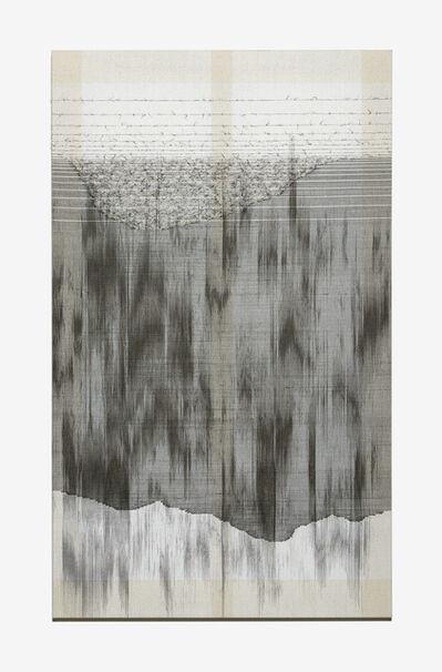 Seungean Cha, 'TwillStain-9', 2017