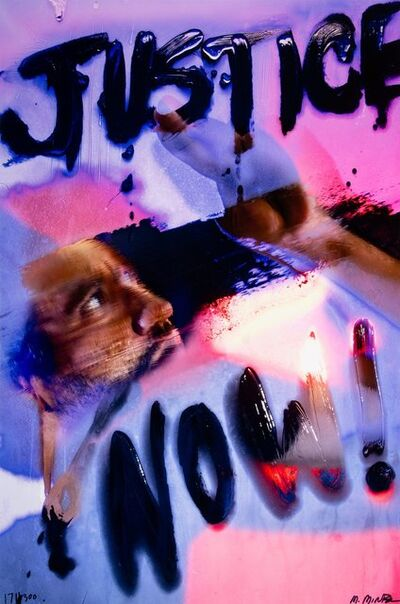 Marilyn Minter, 'Justice Now!', 2020