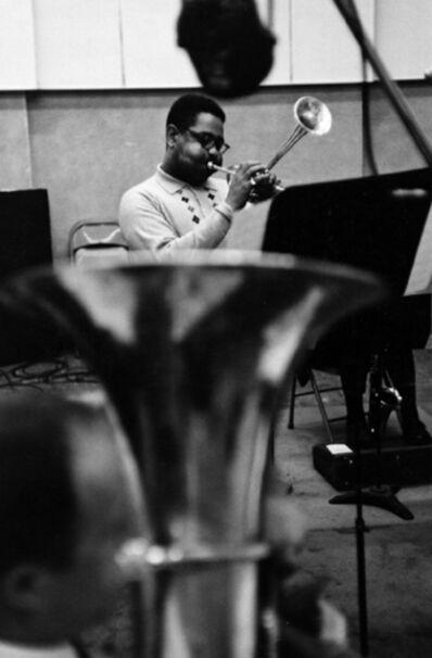 William Claxton, 'Dizzy Gillespie, New York ', 1960