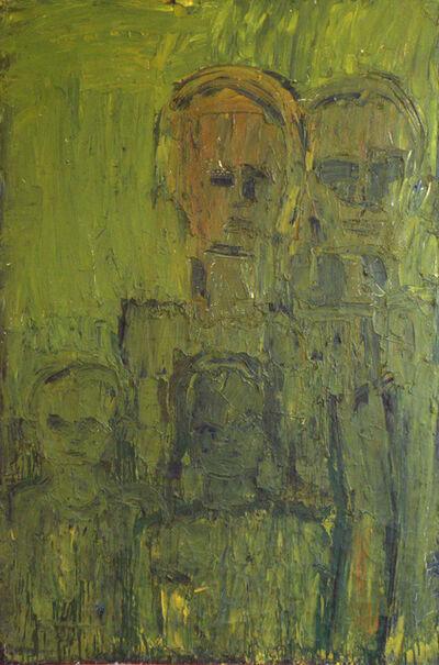 Lester Johnson, 'Green Family', ca. 1962