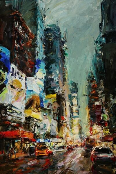 Lyudmila Agrich, 'Times Square Lights', 2018