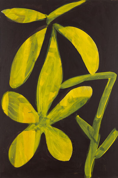 Tamuna Sirbiladze, 'flower 7, yellow', 2015
