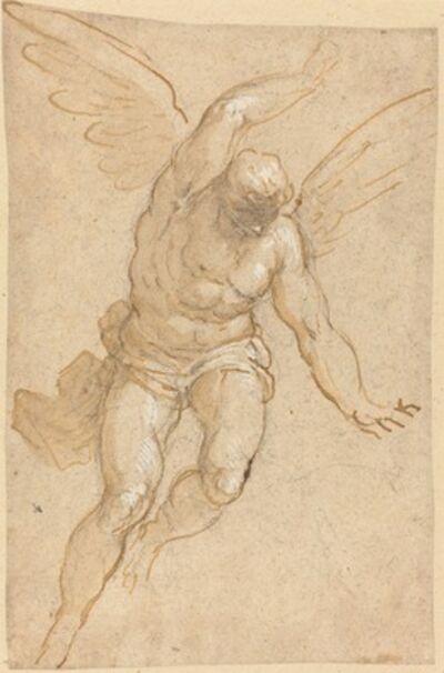 Jacopo Palma il Giovane, 'A Flying Angel', 1580/1590