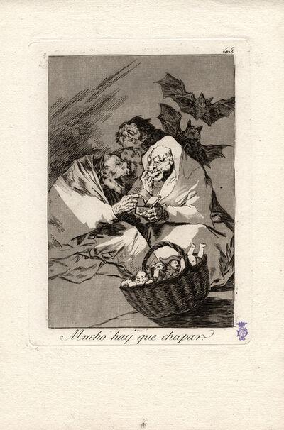 Francisco de Goya, 'Mucho hay que chupar. (There is plenty to suck.)', 1796-1797