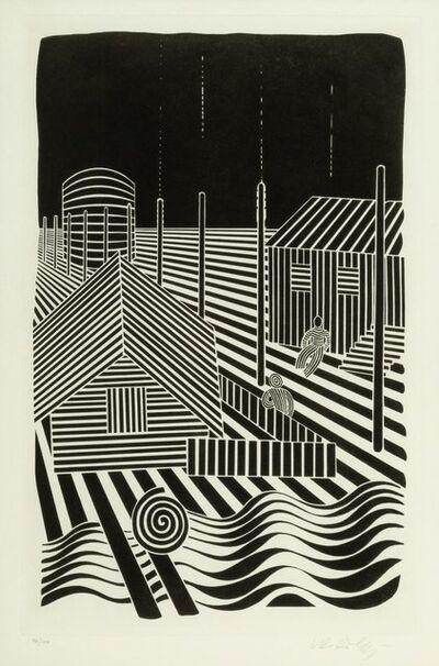 Victor Vasarely, 'Etude lineaire', 1935