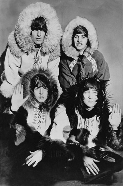 Terry O'Neill, 'The Beatles in Furs ', 1964