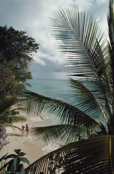 Slim Aarons, 'Barbados Beach', 1976