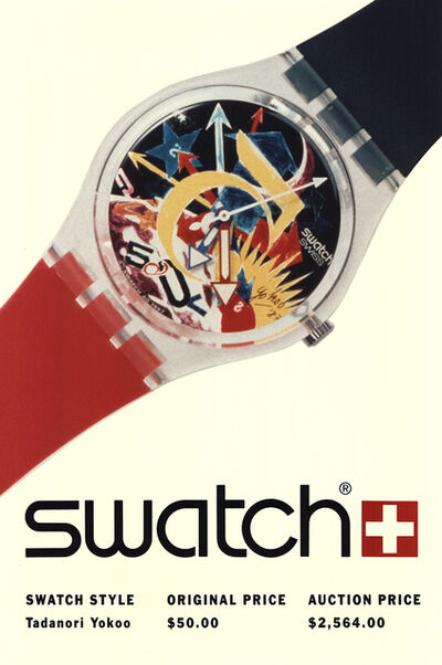 Tadanori Yokoo, 'Swatch: Tadanori Yokoo-Rorrim 5', 1980-2010